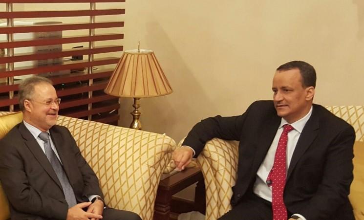 إدانة المبعوث الاممي لاتفاق الحوثي-صالح