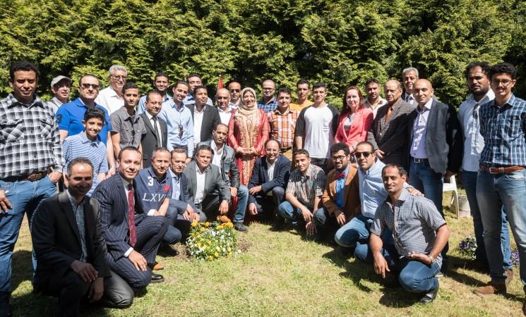 احتفال سفارة بلادنا في وارسو بعيد الوحدة اليمنية المباركة